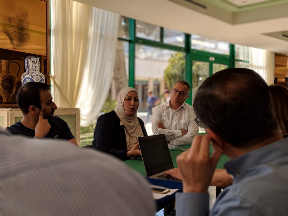 Discussion group in Agadir