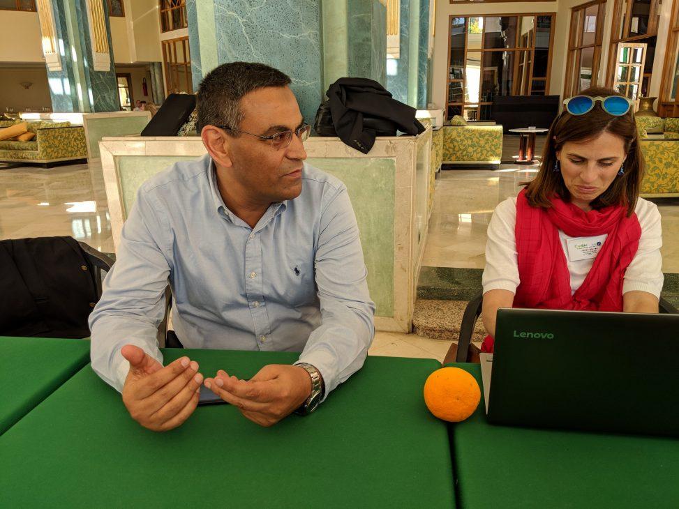 Ayman Elbialy and Romina Cachia