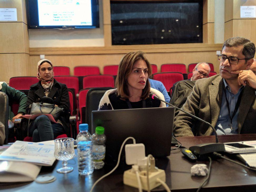 Rominia Cachia and Isidro Maya