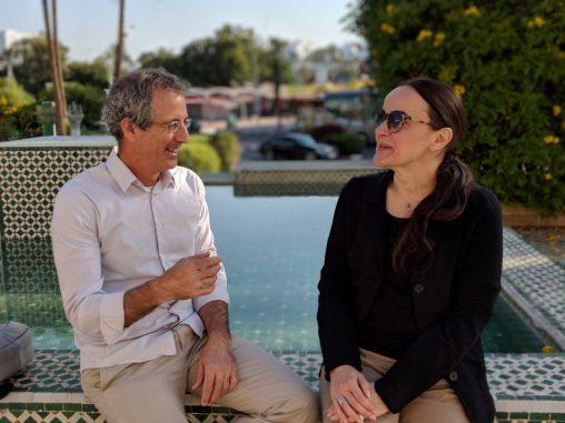 Marwan Tarazi and Cristina Stefanelli
