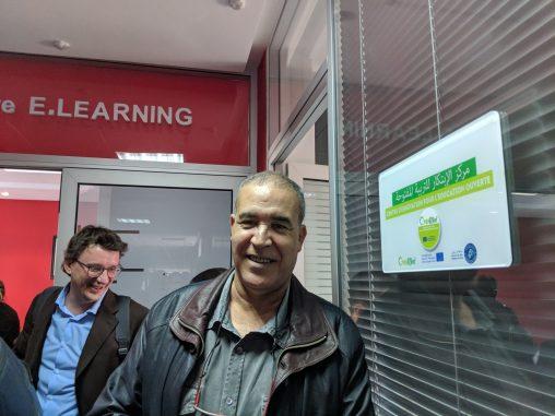 Fabio Nascimbeni and Ahmed Makari